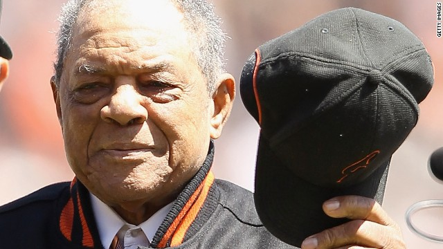 Willie Mays, one of baseball's all-time greats, has thrown his backing behind Obama, along with Hank Aaron, a fellow legend of the sport.