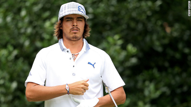Golfer Rickie Fowler, 23, recently declared his support for Romney, so earning the ire of some of his 400,000 followers on Twitter.
