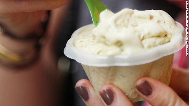 An espresso and a cup of delicious gelato provide a late-afternoon boost.