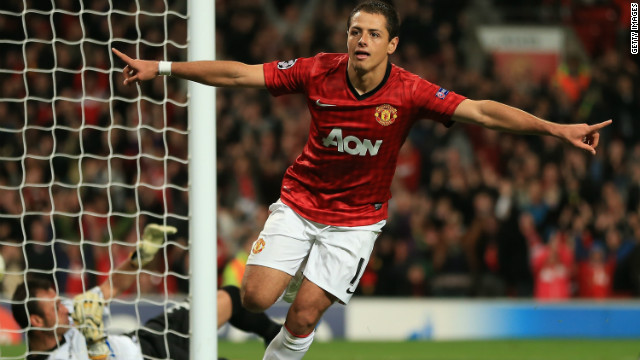 Manchester United forward Javier Hernandez was also born in Guadalajara -- and Perez is close friends with the footballer, whose nickname is &quot;Chicharito.&quot;