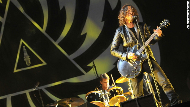 Chris Cornell and Soundgarden are back with a new album,