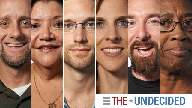 The Undecided: Have they made up their minds?