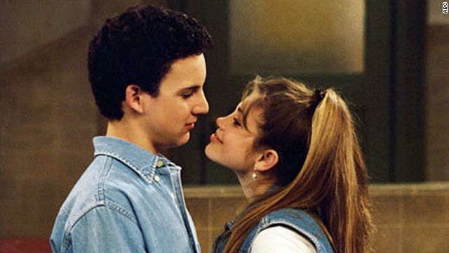 Cory Matthews (Ben Savage) was hopelessly in love with Topanga Lawrence (Danielle Fishel) on