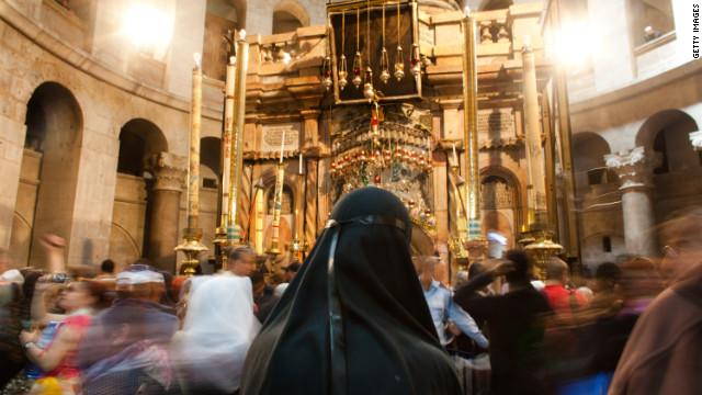 El agua pasa factura a la iglesia del Santo Sepulcro