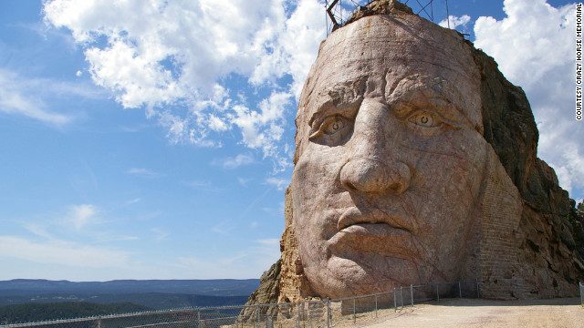 Crazy Horse memorial