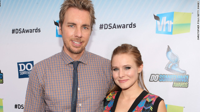 Baby on the way for Kristen Bell, Dax Shepard