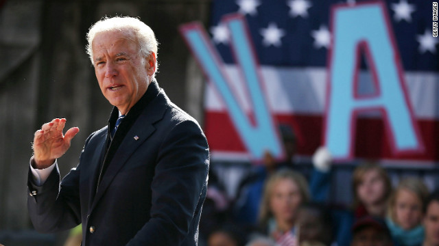 Biden, on final swing through Virginia, takes aim at Romney auto ad