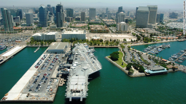 The<a href='http://www.midway.org/' target='_blank'> USS Midway </a>is the longest serving carrier of the 20th century -- logging 47 years before retiring in 1992. Some 225,000 sailors served aboard the Midway. Their average age was 19. It was the first carrier to sail into the Arctic during winter. <br/><br/>In 1975 Midway set the bar for humanitarian missions with Operation Frequent Wind, part of the U.S response to the fall of South Vietnam and the resulting rush of refugees. When it was all said and done, the Midway was credited for saving some 3,000 refugees, who would otherwise have been left behind.