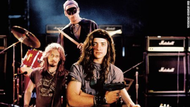 "In 1994's ""Airheads,"" Steve Buscemi, Adam Sandler and Brendan Fraser make up The Lone Rangers, a band willing to do anything for a big break."
