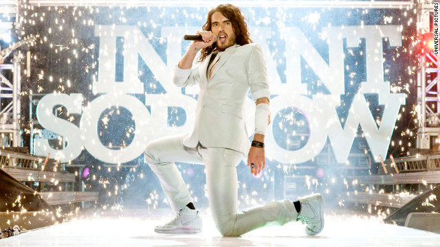 "Russell Brand first played Aldous Snow of the fictional band Infant Sorrow in 2008's ""Forgetting Sarah Marshall."" He reprised his role as the ""We've Got to Do Something"" rocker in 2010's ""Get Him to the Greek."""