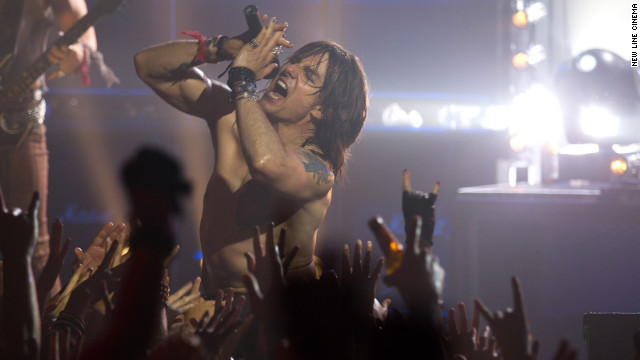 Tom Cruise plays aging rocker Stacee Jaxx in &quot;Rock of Ages,&quot; the 2012 film based on the musical of the same name.