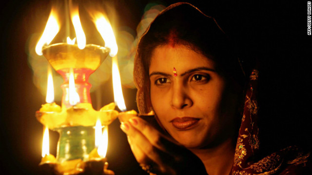 According to Hindu mythology everyone lit oil lamps along the road to welcome Lord Rama home. Diwali has come to symbolize the triumph of good over evil, light over darkness and even the illumination of the soul and attainment of higher knowledge.
