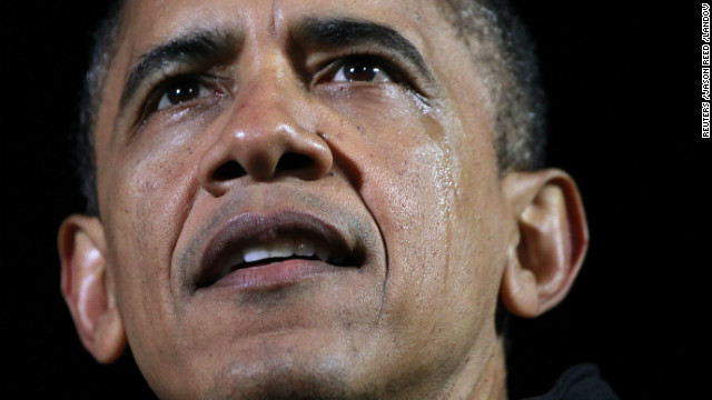 President Barack Obama gets emotional at his final campaign rally in Des Moines, Iowa, on Monday, November 5, on the eve of the U.S. presidential election. Obama's speech included references to his 2008 campaign and his victory in the Iowa caucuses, which helped catapult his political career.