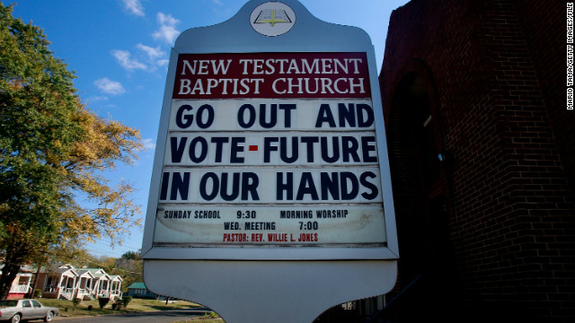 My Take: Stop using churches as polling places