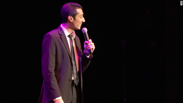 Comic talks Muslim humor and Islamophobia