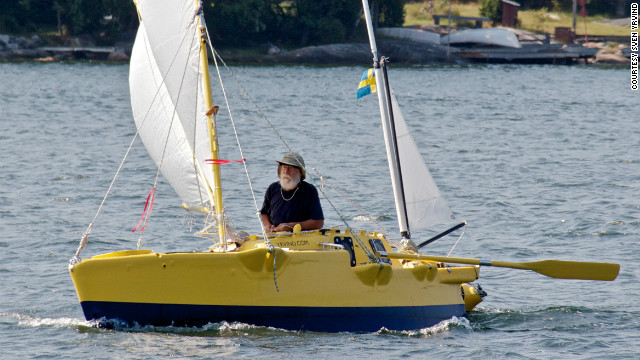 "In a career spanning more than 50 years, Yrvind is showing no signs of slowing down. Last year he sailed 4.5 meter boat ""Yrvind.com"" (pictured) from Ireland to the Caribbean."