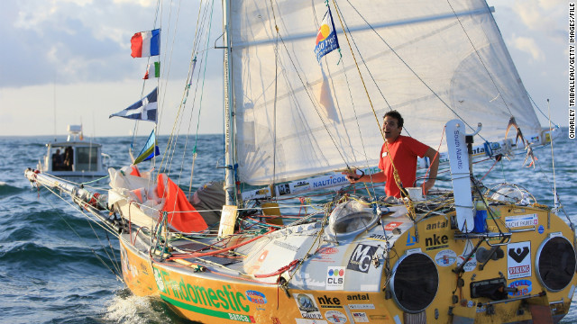 Italian Alessandro Di Benedetto currently holds the record for sailing around the world in the smallest boat, completing the voyage in a 6.5 meter vessel in 2010.