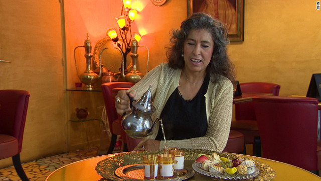 "Samira Fahim has run an Algerian cafe in Paris for 17 years. ""It was hard to find Algerian meals in Paris at that time because we did not have a lot of tourists coming to Algeria,"" she said."