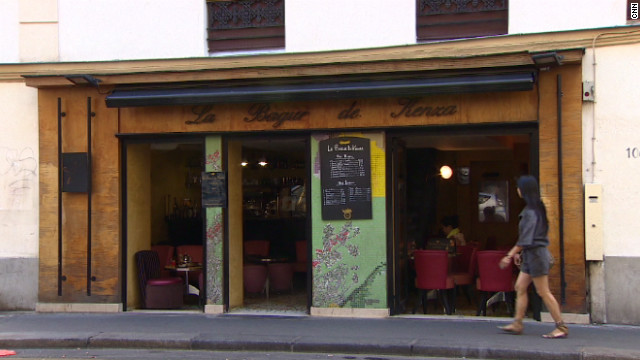 """La Bagur de Kenza"" is in 11th arrondissement. When it first opened few people ventured there, because the street was unlit at night. Today, it is a thriving neighborhood."