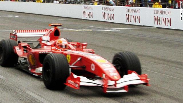 The US Grand Prix at Indianapolis in 2005 was won by Michael Schumacher. But the race is remembered less for his victory, than the number of starters -- just six cars, rather than the normal 20.&lt;br/&gt;&lt;br/&gt;