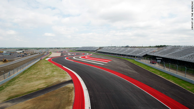 The forthcoming U.S. Grand Prix in Austin, Texas will be the first F1 race to be held in the country since 2007.