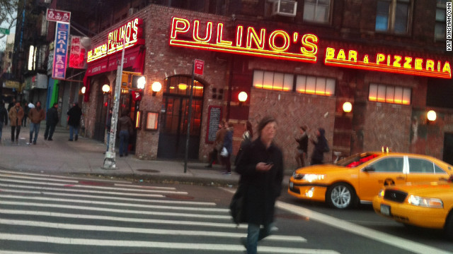 Pulino's, a much newer addition to the neigborhood, refused to give up its ground, either.