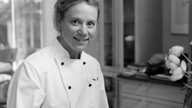 Sorenstam's culinary skills are legendary and she has given demonstrations at LPGA tournaments.