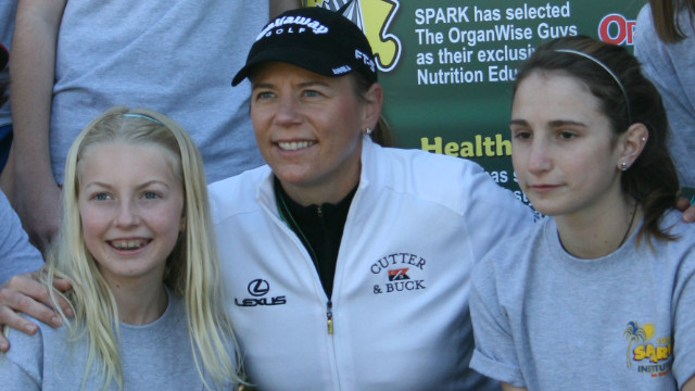 Sorenstam supports many good causes through her own foundation which focuses on a healthy lifestye through fitness and nutrition.&lt;br/&gt;&lt;br/&gt;