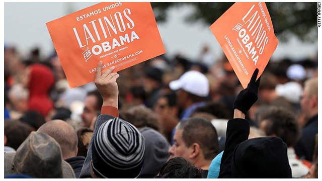 """El voto latino fue """"crucial"""" para la reelección de Obama, según encuesta"""