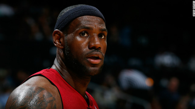 NBA star LeBron James has shrugged off concerns he could damage his raft of endorsements by packing one of the candidates. The Miami Heat small forward tweeted his backing for President Obama.