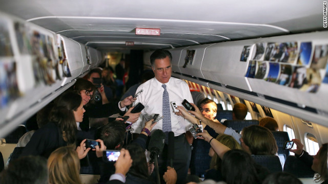 Romney: I've only written a victory speech