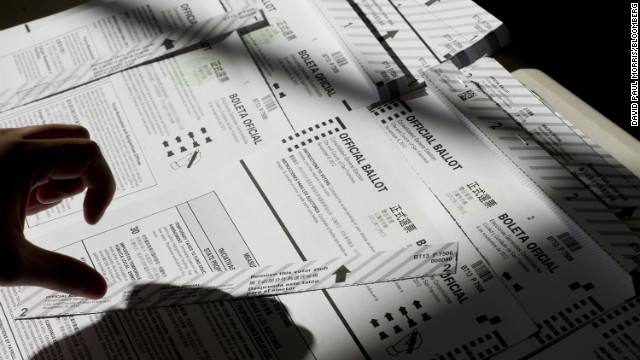 Twenty-three polling places in Hawaii ran out of ballots on Tuesday.