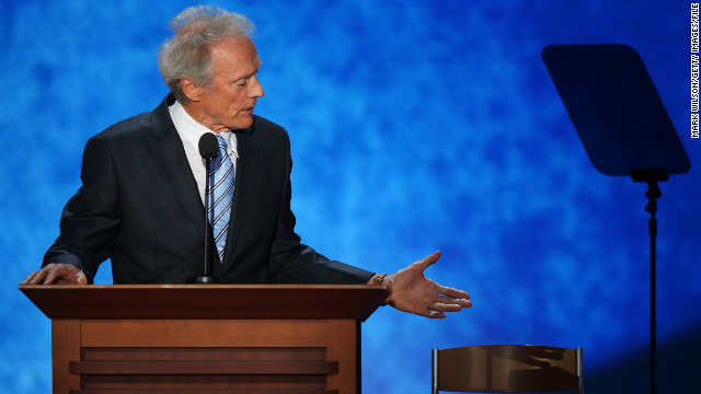 Eastwood's empty chair | August 30, 2012