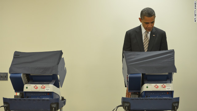Voting early | October 25, 2012