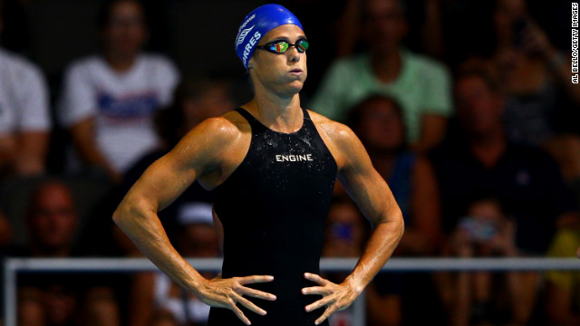 "Dara Torres is an inspiration to thousands of women who are struggling to get, or stay, in shape as they age. The 45-year-old swimmer brought home three silver medals from her fifth Olympic Games in Beijing and barely missed qualifying for London 2012. If her biceps aren't enough inspiration, check out her two books: ""Gold Medal Fitness"" and ""Age is Just a Number."""