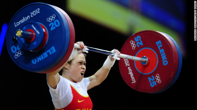 China's Wang Mingjuan weighs only 106 pounds, but she can lift more than 200. Wang claimed the weightlifting gold medal of the 2012 Olympic Games in the women's lightest category. The 26-year-old four-time world champion has not been defeated in international competition since winning her first world title in 2002, &lt;a href='http://www.dailymail.co.uk/sport/olympics/article-2180318/London-2012-Olympics-Wang-Mingjuan-wins-weightlifting-gold.html#ixzz2BMmxKGCx' target='_blank'&gt;according to the Daily Mail&lt;/a&gt;.