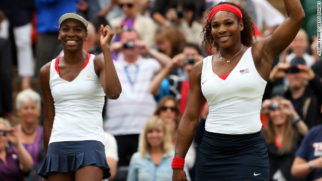 Serena Williams, right, and Venus Williams have dominated women's tennis since they first went professional in the late 1990s. The sisters are close, and often pair up during doubles competitions. But they've competed against each other in the finals of eight Grand Slam singles tournaments, including Wimbledon.
