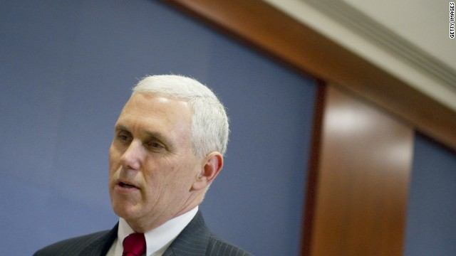 Pence takes Indiana governorship