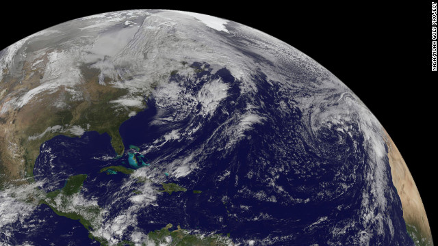 The eastern U.S. was still coping with the aftermath of Sandy at 8 a.m. on Friday, November 2.
