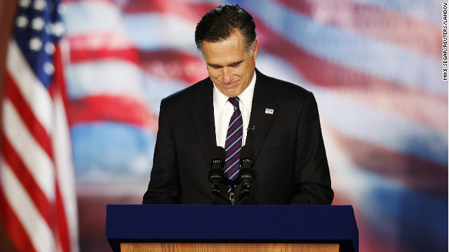 Romney blames election loss on Obama&#039;s &#039;gifts&#039;
