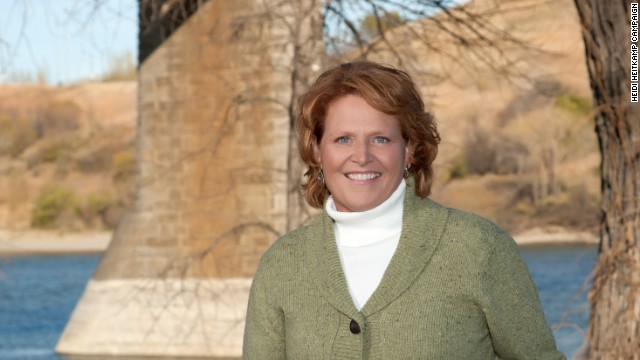 Heitkamp wins bid for Senate in North Dakota