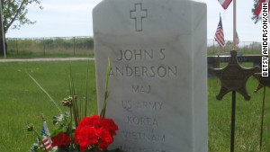 John Anderson died from cancer in 1996.