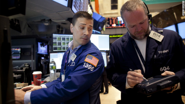 Stocks plunge: Dow's worst day of the year