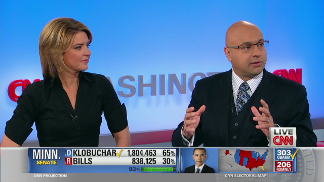 Looms over obama election win christine romans and ali velshi
