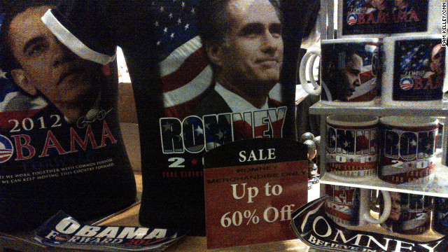 Everything must go: Romney merchandise on sale