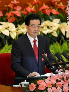 In his address, Hu warned that corruption could bring down the Communist Party and the state it controls. &quot;If we fail to handle this issue well, it could prove fatal to the party, and even cause the collapse of the party and the fall of the state,&quot; Hu said.