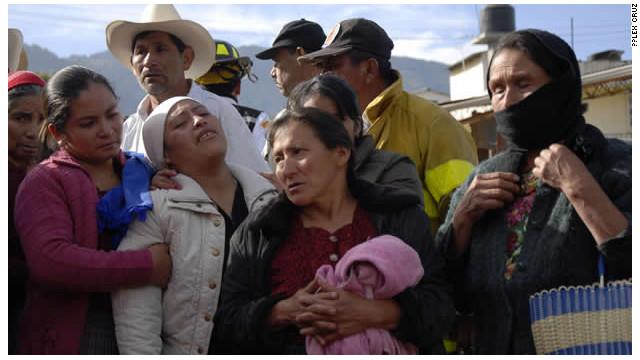 Giovanni, el rostro de la tragedia en Guatemala