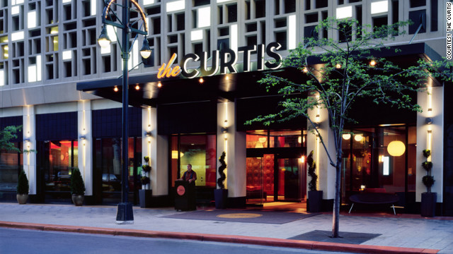"Guests can rent out the entire 15th floor of The Curtis on December 21 as part of the ""Party Like There's No To-Maya"" package."