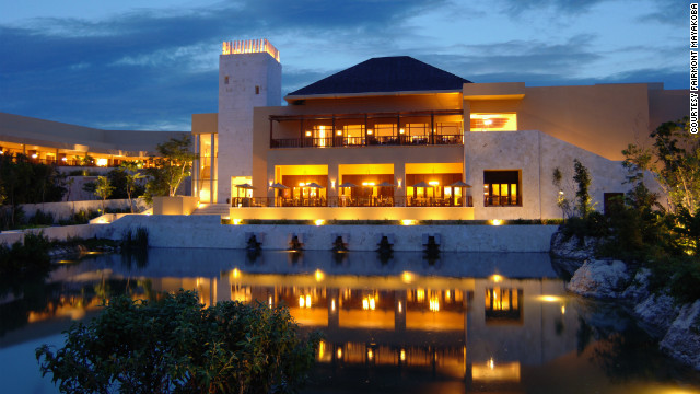 The Fairmont Mayakoba is offering special spa treatments (think healing herbs and bathing rituals) and authentic tasting menus.