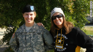 Susie, the writer\'s niece, graduated from Boot Camp in November 2011.